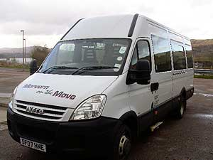 community minibuses. Black Bedroom Furniture Sets. Home Design Ideas